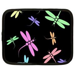 Pastel dragonflies Netbook Case (XXL)