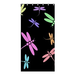 Pastel dragonflies Shower Curtain 36  x 72  (Stall)