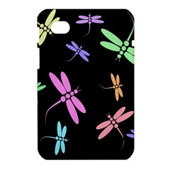 Pastel dragonflies Samsung Galaxy Tab 7  P1000 Hardshell Case