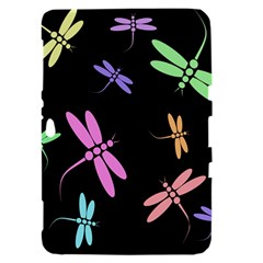Pastel dragonflies Samsung Galaxy Tab 8.9  P7300 Hardshell Case