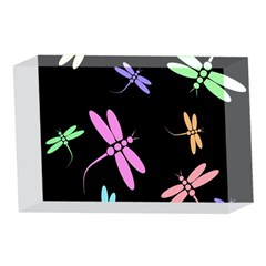 Pastel dragonflies 4 x 6  Acrylic Photo Blocks