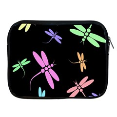 Pastel dragonflies Apple iPad 2/3/4 Zipper Cases