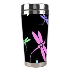 Pastel dragonflies Stainless Steel Travel Tumblers