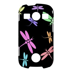 Pastel dragonflies Samsung Galaxy S7710 Xcover 2 Hardshell Case