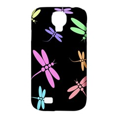 Pastel dragonflies Samsung Galaxy S4 Classic Hardshell Case (PC+Silicone)