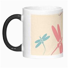 Pastel Dragonflies  Morph Mugs