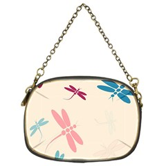 Pastel dragonflies  Chain Purses (One Side)