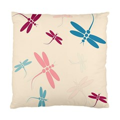 Pastel dragonflies  Standard Cushion Case (Two Sides)