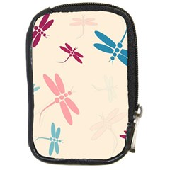 Pastel dragonflies  Compact Camera Cases