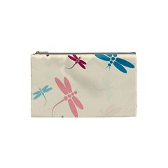 Pastel dragonflies  Cosmetic Bag (Small)