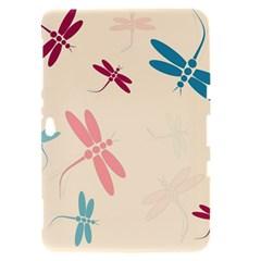 Pastel dragonflies  Samsung Galaxy Tab 8.9  P7300 Hardshell Case