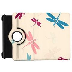 Pastel dragonflies  Kindle Fire HD Flip 360 Case