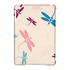 Pastel dragonflies  Apple iPad Mini Hardshell Case (Compatible with Smart Cover)