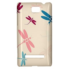 Pastel dragonflies  HTC 8S Hardshell Case