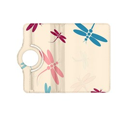 Pastel dragonflies  Kindle Fire HD (2013) Flip 360 Case