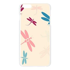 Pastel dragonflies  Apple Seamless iPhone 6 Plus/6S Plus Case (Transparent)