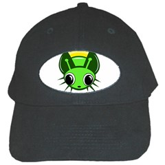 Transparent firefly Black Cap