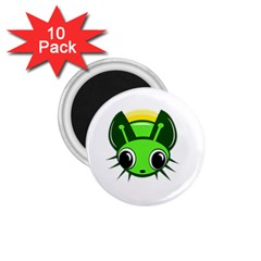 Transparent firefly 1.75  Magnets (10 pack)