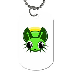 Transparent firefly Dog Tag (Two Sides)
