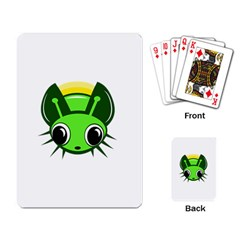 Transparent firefly Playing Card