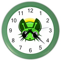Transparent firefly Color Wall Clocks
