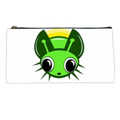 Transparent firefly Pencil Cases