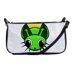 Transparent firefly Shoulder Clutch Bags