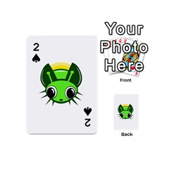 Transparent firefly Playing Cards 54 (Mini)