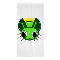 Transparent firefly Shower Curtain 36  x 72  (Stall)
