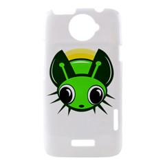 Transparent firefly HTC One X Hardshell Case