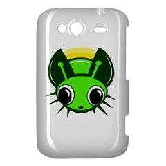 Transparent firefly HTC Wildfire S A510e Hardshell Case