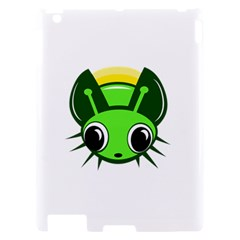 Transparent firefly Apple iPad 2 Hardshell Case