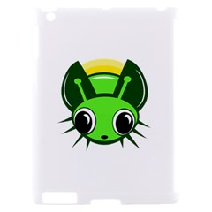 Transparent firefly Apple iPad 2 Hardshell Case (Compatible with Smart Cover)
