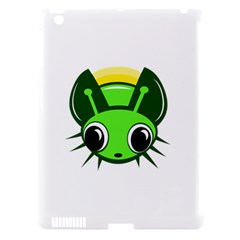 Transparent firefly Apple iPad 3/4 Hardshell Case (Compatible with Smart Cover)