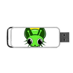 Transparent firefly Portable USB Flash (Two Sides)