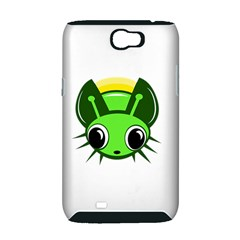Transparent firefly Samsung Galaxy Note 2 Hardshell Case (PC+Silicone)