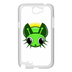 Transparent firefly Samsung Galaxy Note 2 Case (White)