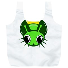 Transparent firefly Full Print Recycle Bags (L)