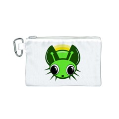 Transparent firefly Canvas Cosmetic Bag (S)