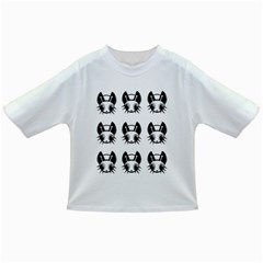 Black and white fireflies patten Infant/Toddler T-Shirts