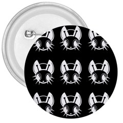 White and black fireflies  3  Buttons