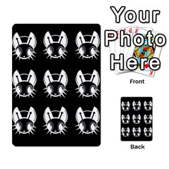 White and black fireflies  Multi-purpose Cards (Rectangle)
