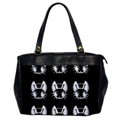 White and black fireflies  Office Handbags