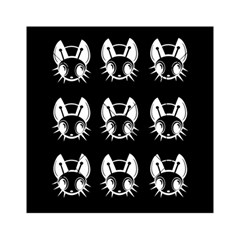 White and black fireflies  Acrylic Tangram Puzzle (6  x 6 )