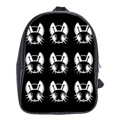 White and black fireflies  School Bags (XL)