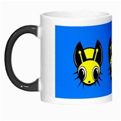 Yellow and blue firefies Morph Mugs