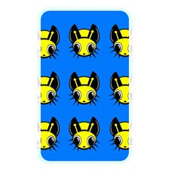 Yellow and blue firefies Memory Card Reader