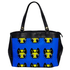 Yellow and blue firefies Office Handbags