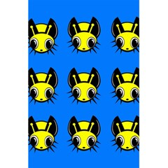 Yellow and blue firefies 5.5  x 8.5  Notebooks