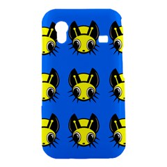 Yellow and blue firefies Samsung Galaxy Ace S5830 Hardshell Case